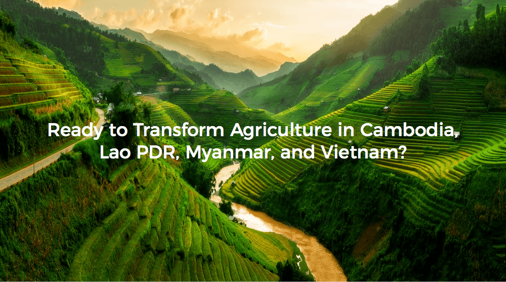 Launch AgriTech Accelerator for the Mekong Region