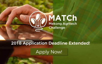 Mekong Agritech Challenge Extends Application Deadline!